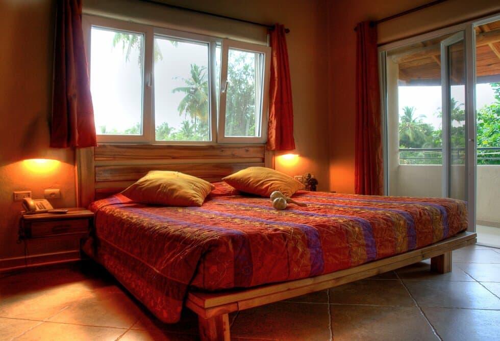 Comodas camas en todas las habitaciones del hotel
