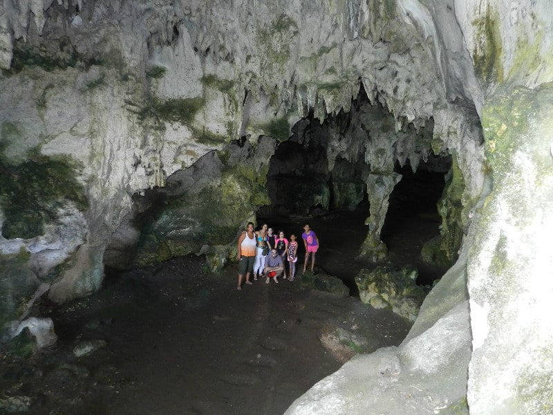 Cueva la Linea en los Haitises